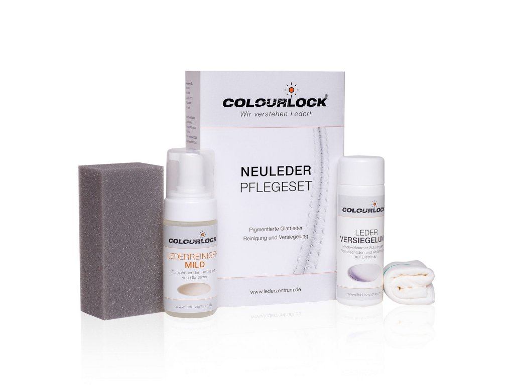 colourlock neuleder pflegeset 1