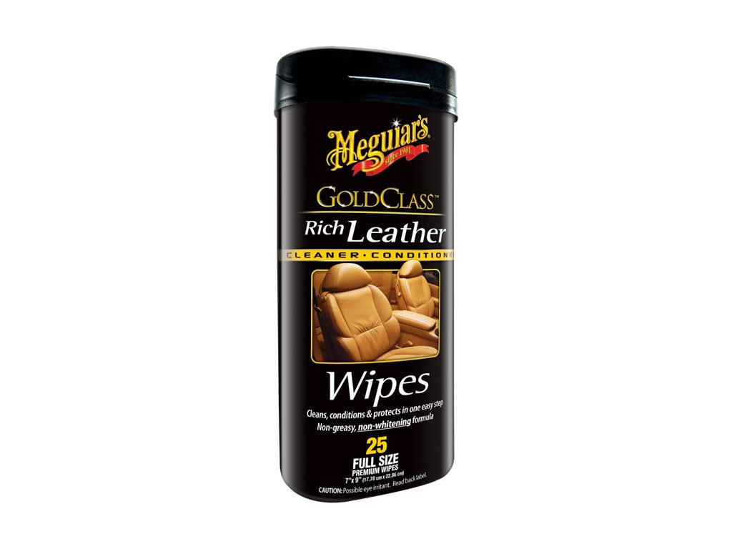 g10900 meguiars rich leather cleaner and conditioner wipes