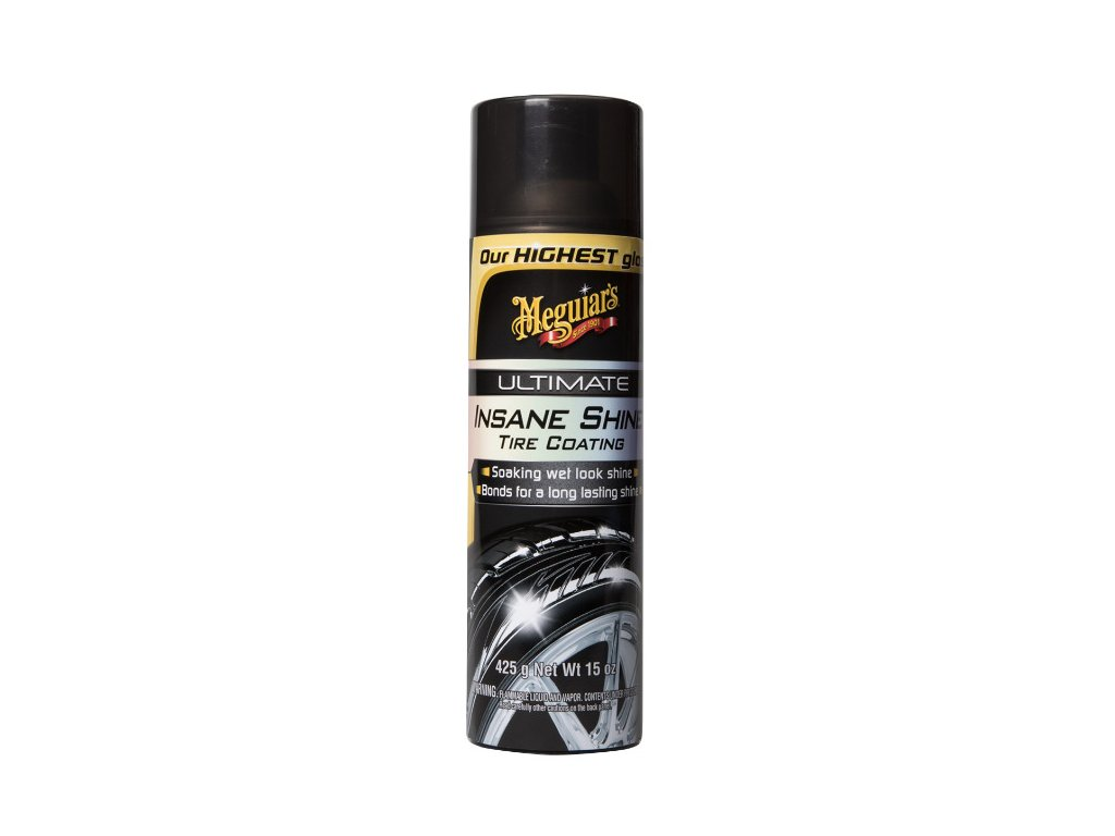 Meguiars Ultimate Insane Shine Tire Coating nejlesklejsi pripravek na ochranu pneumatik v sortimentu Meguiars 425 g 201942915447