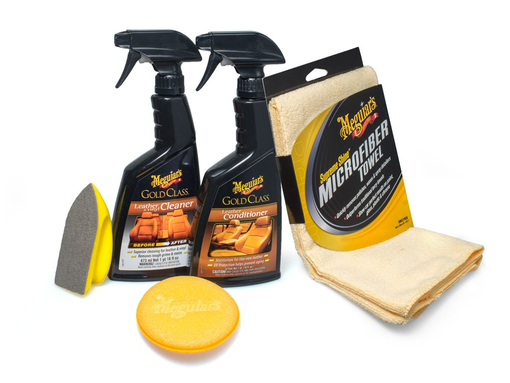 leatherkit meguiars heavy duty leather kit