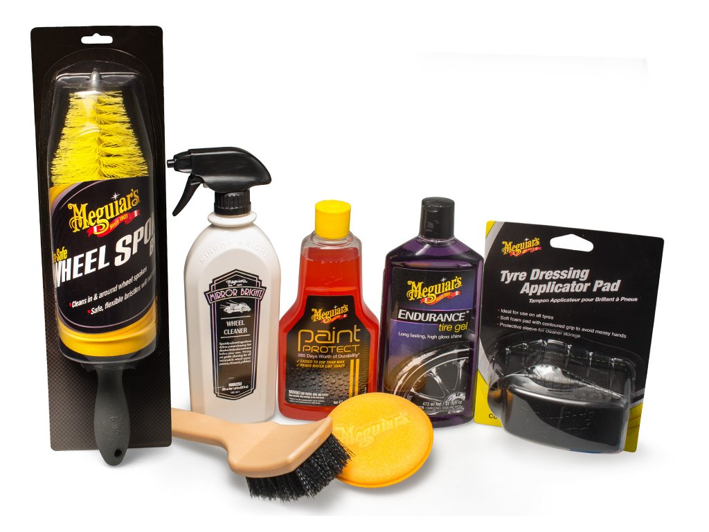 wheelkit meguiars wheel and tire kit