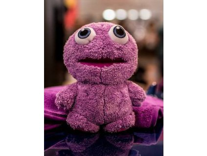 liquid elements purple monster toy