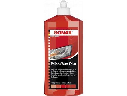 296400 sonax polish wax color rot 500ml