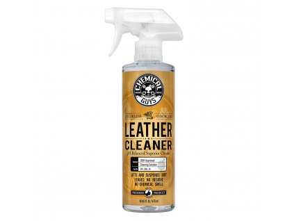chemicalguys spi 208 16 leather cleaner 473ml