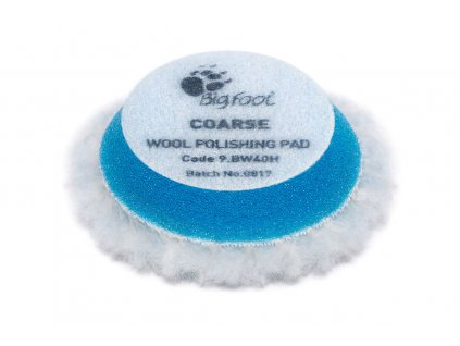 rupes 9bw40h wool polishing pad coarse 45mm