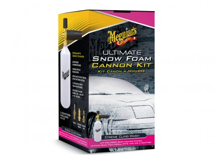 meguiars ultimate snow foam cannon kit sada napenovace a autosamponu meguiars ultimate snow foam 946 ml 2020121125547