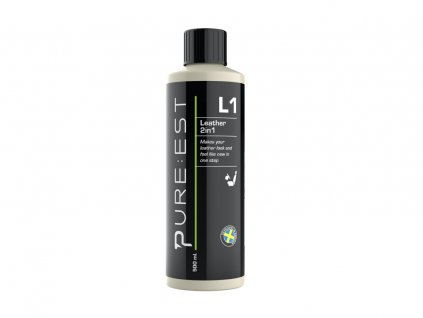 pureest l1 leather cleaner conditioner 500ml