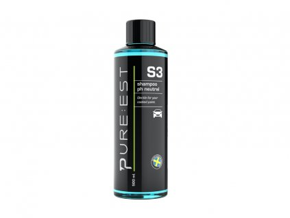 pureest s2 shampoo ph neutral 500ml