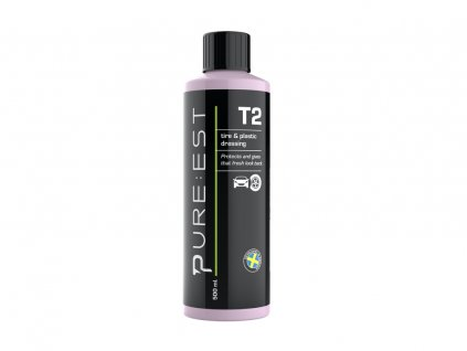 pureest t2 tire plastic dressing 500ml