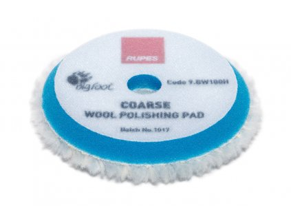 rupes Coarse Wool polishing pads 9.BW100H 1