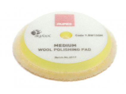 rupes Medium Wool polishing pads 9.BW150M 1
