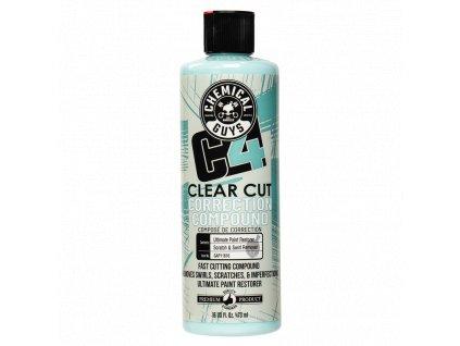 chemicalguys GAP11616 c4 clear cut compound 473ml