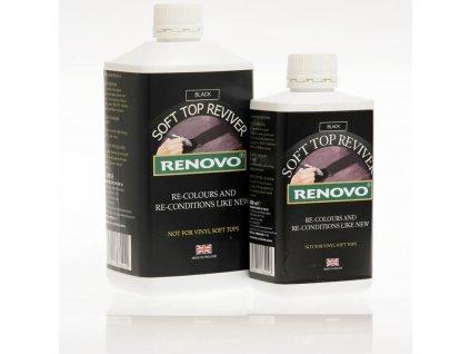 Renovo Soft Top Hood Reviver Black 500ml oživovač textilních střech
