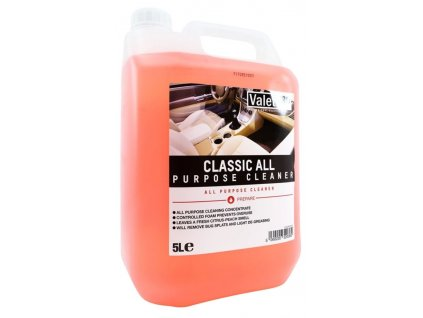 valetpro classic all purpose cleaner 5l