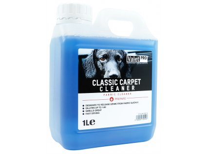 valetpro classic carpet cleaner 1l