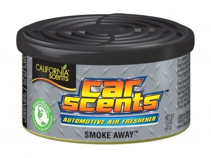 California Scents Smoke Away vůně do auta Anti tabák
