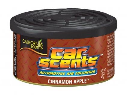 California Scents Cinnamon Apple vůně do auta Jablko se skořicí