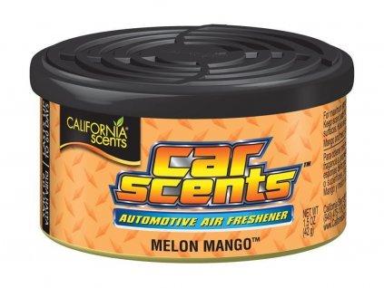 California Scents Melon Mango vůně do auta Meloun & Mango