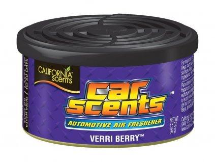 California Scents Verri Berry vůně do auta Borůvka
