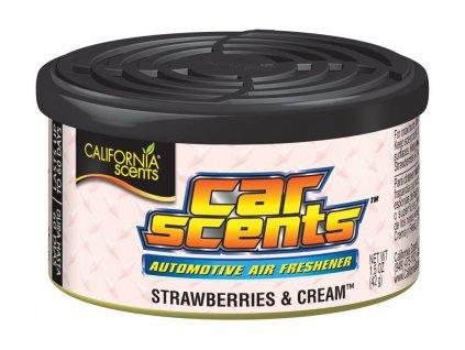 California Scents Strawberries & Cream - Jahody se šlehačkou