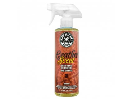 Chemical Guys Leather Scent Premium Air Freshener & Odor Eliminator 473ml vůně kůže