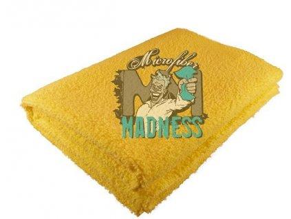 Microfiber Madness Yellow Fellow 2.0 40x40cm mikrovláknová utěrka
