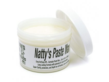Poorboys Natty's Paste Wax White 235ml tvrdý vosk