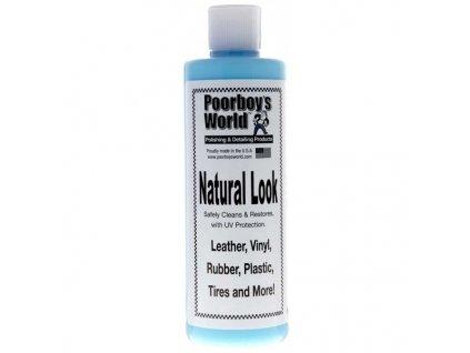 Poorboys Natural Look Dressing 473ml ošetření plastů