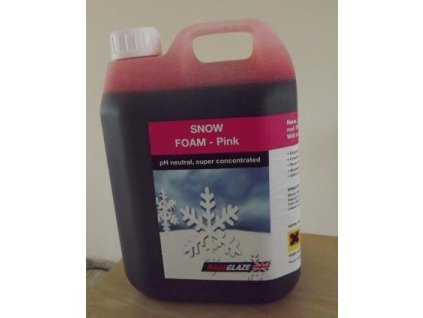 Raceglaze Concentrated Pink Snow Foam 2.5L aktivní pěna