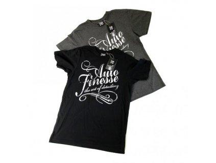 Auto Finesse Black T-Shirt the art of detailing tričko