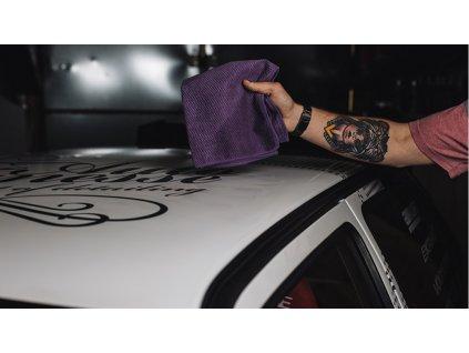 Auto Finesse Micro Tweed Towel 40x40cm mikrovláknová leštící utěrka