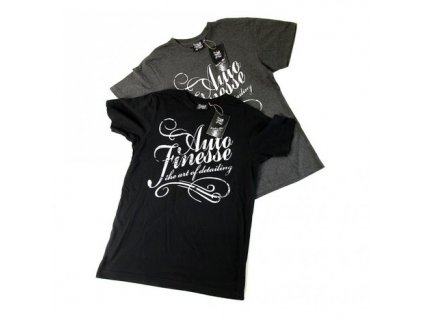 Auto Finesse Charcoal T-Shirt the art of detailing tričko
