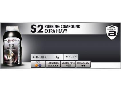 Scholl S2 Rubbing Compound extra heavy 1kg silná leštící pasta