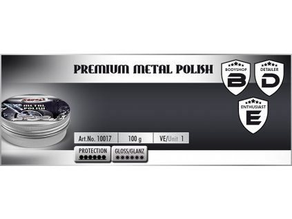 Scholl Premium Metal Polish 100g leštěnka na kovy