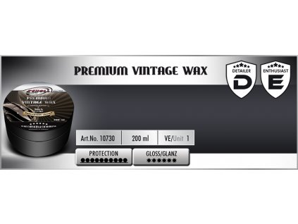 Scholl VINTAGE Premium Carnauba Wax 200ml  tvrdý vosk