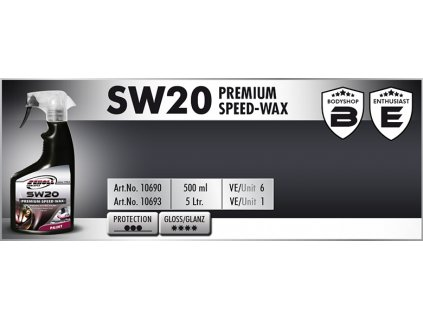 Scholl SW20 Premium Speed Wax 500ml rychlovosk