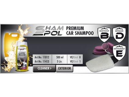 Scholl ShamPol Premium Car Shampoo 500ml autošampon