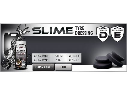 Scholl SLIME Tire Dressing Gel 500ml impregnace pneu