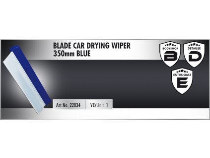 Scholl BLADE Car Drying Wiper 35cm blue stěrka na vodu