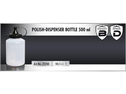 Scholl Polish Dispenser Bottle 500ml láhev pro dávkování past