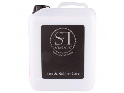 ServFaces Tire & Rubber Care 5L ošetření plastů a pryží