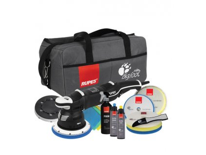 RULK900EDLX RUPES Big Foot Mille LK 900E Gear Driven Dual Action Polisher Deluxe Kit LK900E[1]
