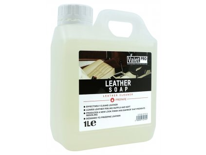 valetpro leather soap 1l