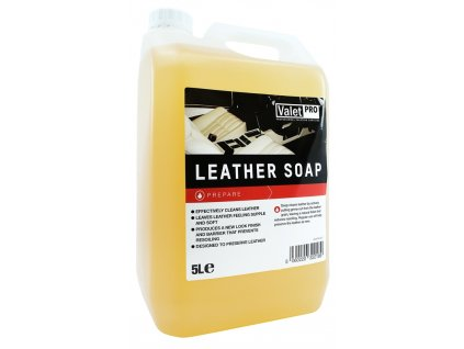 valetpro leather soap 5l