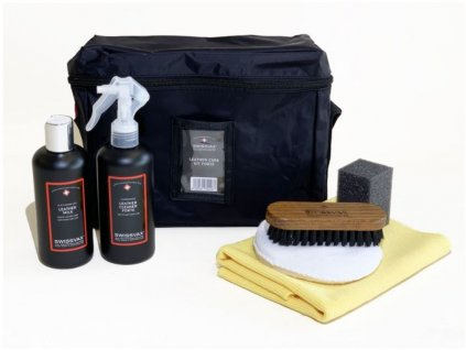 swissvax leather care kit forte