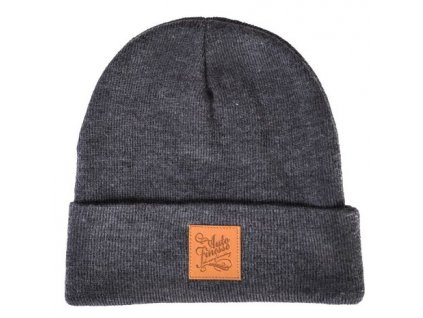 auto finesse knitted beanie dark
