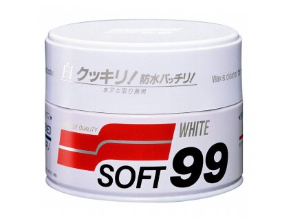 soft99 white soft wax