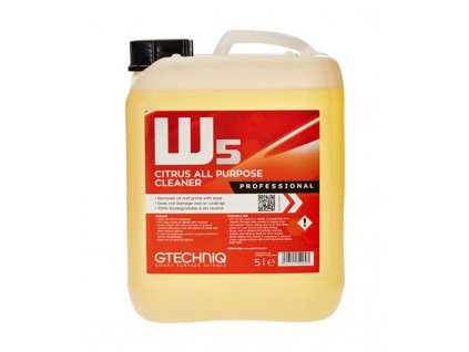 Gtechniq W5 Citrus All Purpose Cleaner 5L