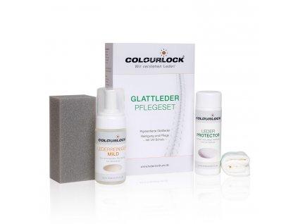 colourlock glatleder pflegeset mild 3