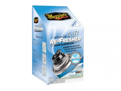 Meguiars Air Re Fresher Odor Eliminator Summer Breeze Scent cistic klimatizace pohlcovac pachu osvezovac vzduchu vune Summer Breeze 71 g 2019429152010